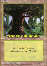 1/3 Foresta (Forest) Magic limited black bordered German Beta FBB Foreign tedesco L