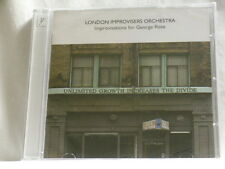 LONDON IMPROVISERS ORCHESTRA Improvisations for George Riste Evan Parker NEW CD
