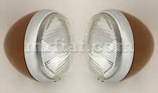 Fiat 850 Siata Spring Headlamps Set New