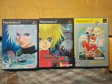 3x PS2 Tales of Rebirth + Destiny 2 + Symphonia JAPAN NTSC-J playstation2 namco