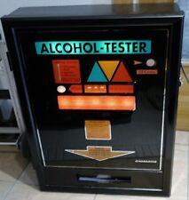 ALCOMAT/ Alkoholtester Automat guter Zustand, mit Euro Geldeinwurf und Zubehör!