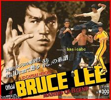 Gashapon Bandai BRUCE LEE 3D Kung Fu Hero Masters of Legend Figure Set