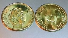 """Heads I Win - Tails You Lose"" Coins. Buy 2 - Get 1 Free     #070."