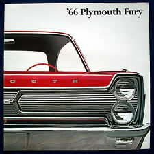 Prospekt brochure 1966 Plymouth Fury  (USA)