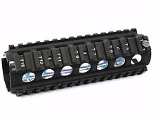AS246u AIRSOFT TOY Aluminum RIS RAS CQB Rail Handguard for M Series AEG GBB M014