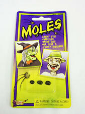 Fake Moles Old Lady Woman Witch Halloween Fancy Dress