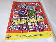 MANGA - Publicité de magazine / Advert !!! DEAD LEAVES !!! UK !!!