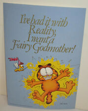 GARFIELD THE CAT VINTAGE 1978 ARGUS MINI POSTER FAIRY GODMOTHER ODIE