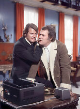 PHOTO AMICALEMENT VOTRE - ROGER MOORE ET TONY CURTIS  /11X15 CM #2