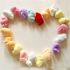 5 Pair Cute Newborn Baby Girls Boys Soft Socks Mixed Color Xmas Gift FT