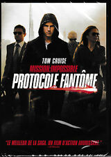 DVD Tom CRUISE - Mission impossible -- Protocole Fantôme -- Neuf sous blister
