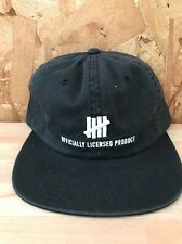UNDEFEATED OFFICAL STRAP BACK BLACK NEW WITH TAGS