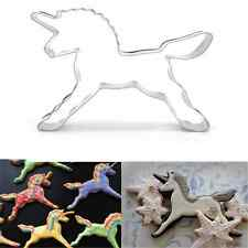 Unicorn Horse Modish Cookies Cutter Mold Cake Decor Biscuit Pastry Baking Mould