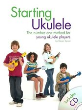 NEW! Children's Learn To Play UKULELE Music Tutor Book & CD Easy Beginner