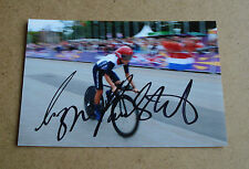 Lizzie Armitstead Signed 6x4 Photo Genuine Cycling Autograph Memorabilia + COA