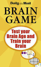 Daily Mail  Brain Game by Daily Mail (Paperback) New Book