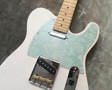Mint Green Paisley Custom Embossed Bakelite Pickguard Fender® Telecaster® Tele®