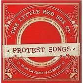 The Little Red Box of Protest Songs (4CD), Various Artists, Good Condition Box s