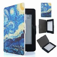 Van Gogh Oil Painting Thin Flip Folio Case Cover Protector For Kindle Paperwhite