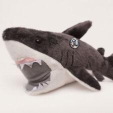weißer Hai MORIA Kuscheltier Plüschtier 27 cm  dunkelgrau Raubfisch Kuscheltier