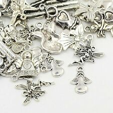 30g x Tibetan Silver Charms / Pendants ~ ANGELS/FAIRIES ~ Mixed ~ Antique Silver