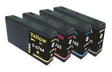 4PK-1 Set Compatible T676 XL Ink for EPSON WORKFORCE PRO WP-4020 WP-4530 WP-4540