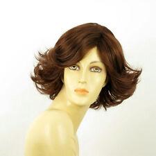 short wig for women dark brown copper ref JEANETTE 31 PERUK