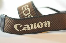 Canon EOS Brown shoulder camera strap for film digital SLR A2 T5 T6 5D 70D 60D