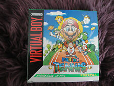 MARIO TENNIS. NINTENDO VIRTUAL BOY BRAND NEW. JAPANESE. UNOPENED