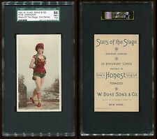 1891 N130 Stars of the Stage (2nd Series) Unknown Subjct SGC 86 NM+ #8132126-020