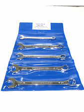 King Dick Combination wrench set Whitworth tools 5 piece 1/8 3/16 1/4 5/16 3/8""