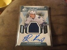 15-16 SP GAME USED INKED ROOKIE AUTO JERSEY #147/149 RONALD KENINS CANUCKS