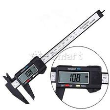 "6"" 150mm LCD Digital Electronic Vernier Caliper Gauge Micrometer Measuring Tool"