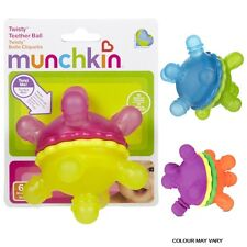 Munchkin Baby Shake & Roll Sound Non-Toxic Twisty Toddler Teether Ball +6 Months