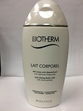 Biotherm Lait Corporel Anti-Drying Body Milk with Citrus Extract 6.76 oz SEALED