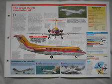 Aircraft of the World - Fokker F28 Fellowship