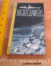 Nightcrawlers comics Charles Addams Family pb book 1960's VF