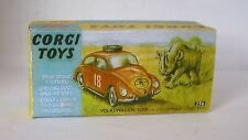 Repro Box Corgi Nr.256 VW 1200 Safari
