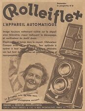 Z8325 ROLLEIFLEX l'appareil automatique - Pubblicità d'epoca - 1933 Old advert