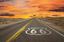 Fototapete Route 66 Wandbild Amerika Poster-Motiv by GREAT ART