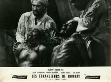 GUY ROLFE THE STRANGLERS OF BOMBAY HAMMER 1959 VINTAGE LOBBY CARD #2