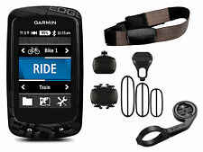 Garmin EDGE 810 Performance Bundle ciclo NAVIGATORE SATELLITARE GPS Heart Rate HRM + Cadence