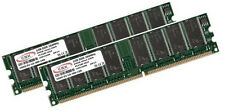 2x 1gb 2gb RAM de memoria DDR 266mhz pc2100 184pin