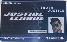 WFID-103 GREEN LANTERN World's Finest DC HeroClix ID CARD