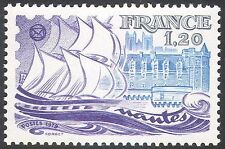 France 1979 Nantes/Ship/Boat/Sailing/Cathedral/Building/Philately 1v (n23472)