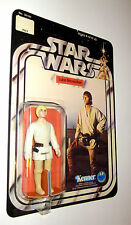 VINTAGE STAR WARS LUKE SKYWALKER FIGURE on 12 BACK CARD MINT!