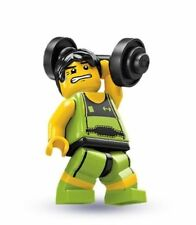 LEGO #8684 Mini figure Series 2 WEIGHTLIFTER