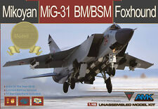 AMK kit AvantGarde 1/48 Mikoyan MiG-31 BM/BSM Foxhound 88003-S Special Edition