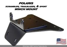 ATV Winch Mount Polaris 1998-2009 Scrambler 500 4x4 - 100520