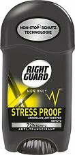 3 X Right Guard Men Xtreme Activated STRESS PROOF Deodorant STICK 50ml
